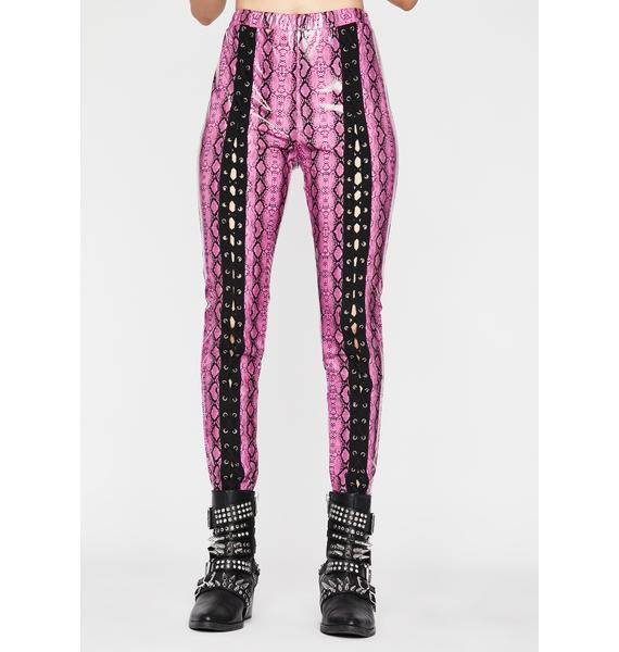 Pretty Extreme Empire Lace Up Pants