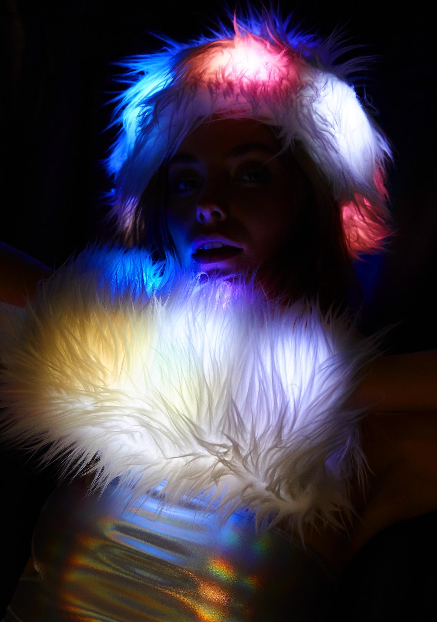 J Valentine Ice Queen Light Up Muff