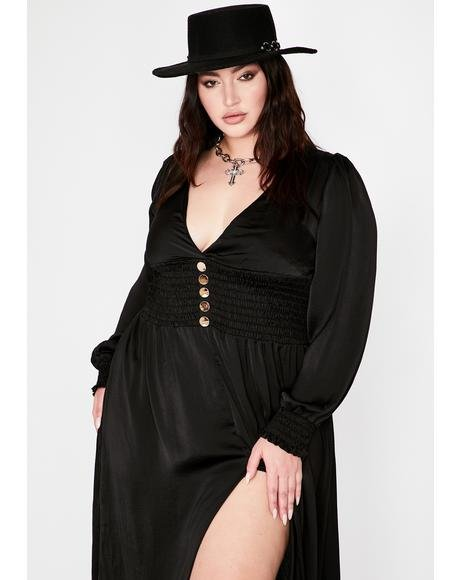 Stay Sexy N' Solo Maxi Dress