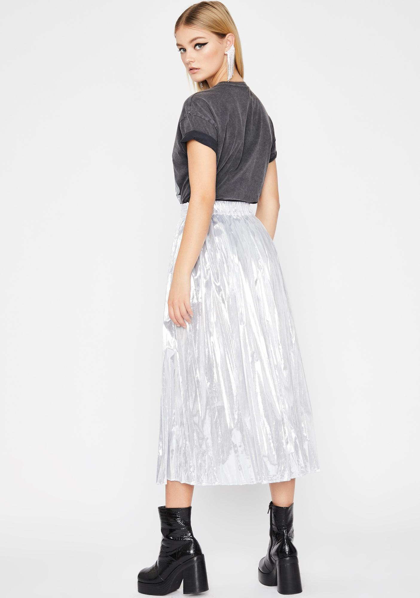 U Wish Pleated Skirt