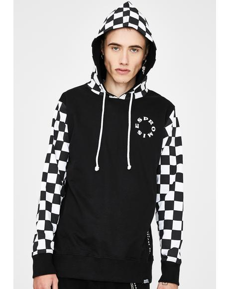 Problems Checkered Hoodie
