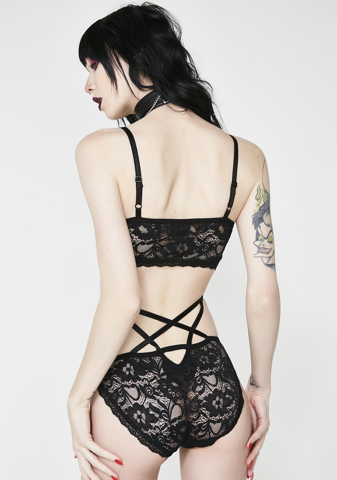 Killstar Noctra Lace-delic Panties