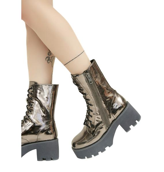 Current Mood Galactic Vortex Platform Boots