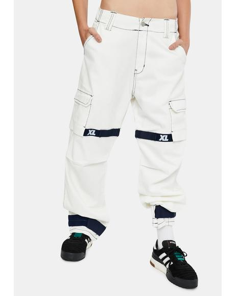Adjustable Cargo Pants