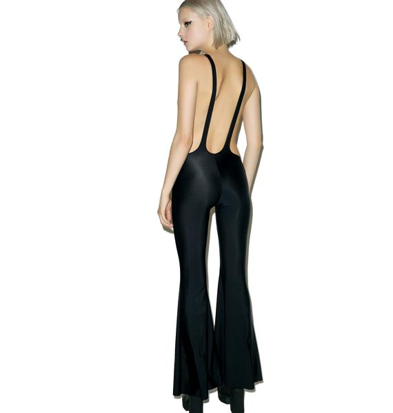 Little Black Diamond Good Vibes Suspender Flares