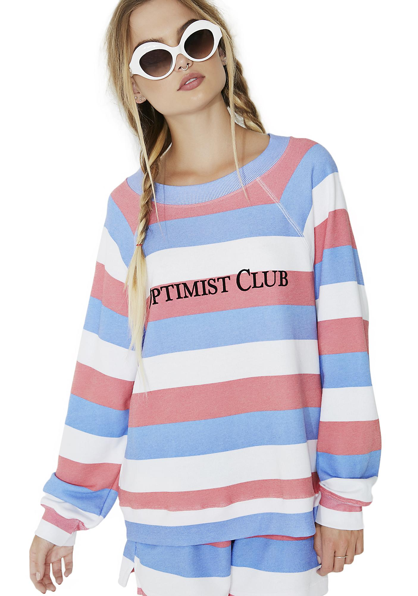 Wildfox Couture Optimist Club Sommers Sweater