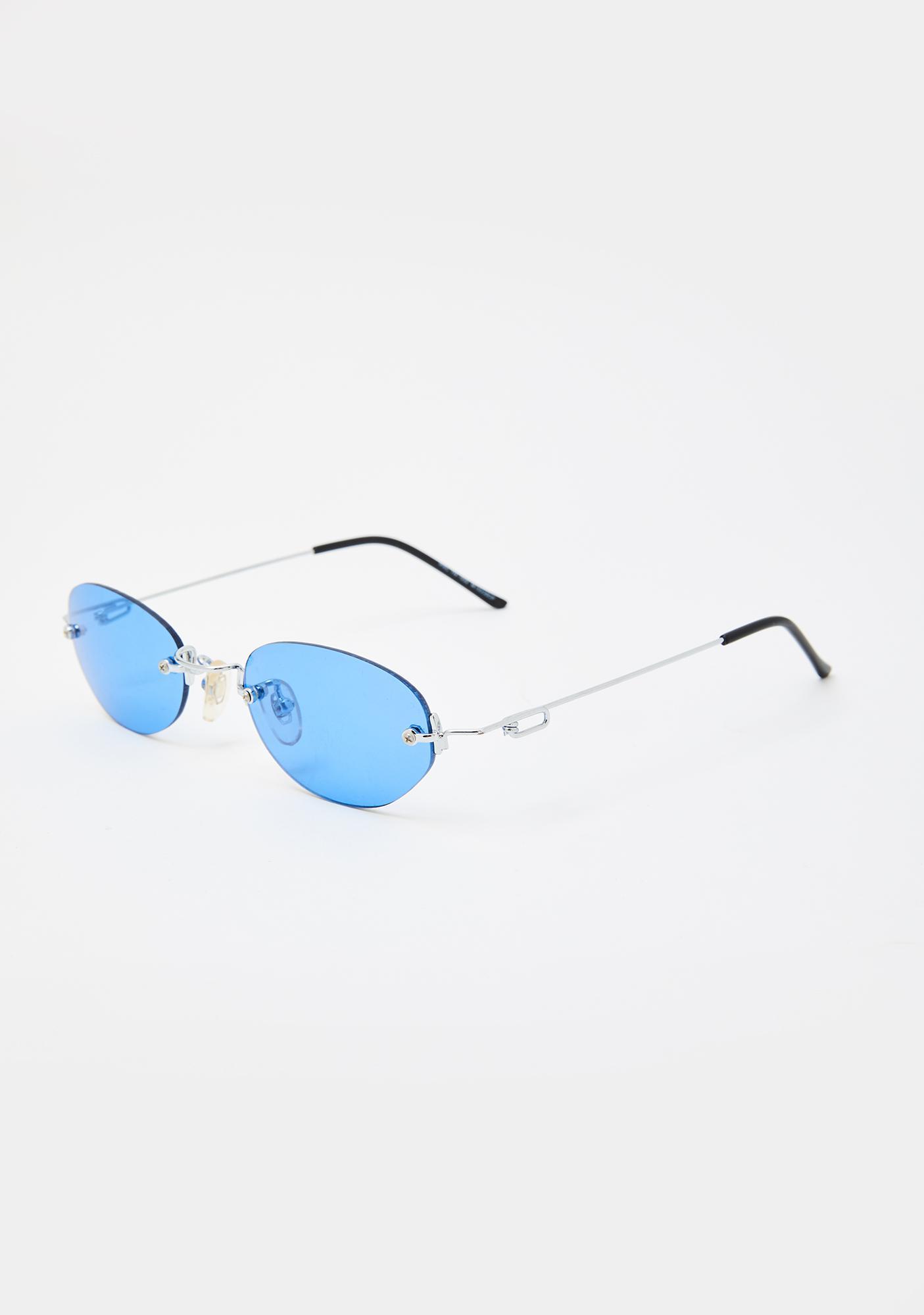 Good Times Eyewear Blue Remi Sunglasses