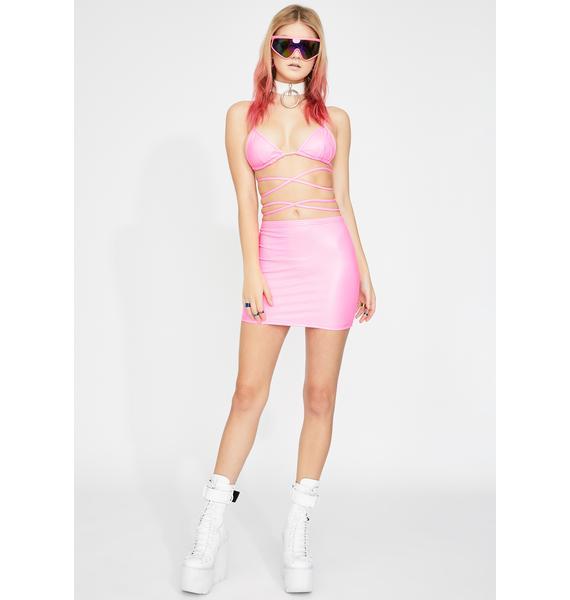 Club Exx Sugar Fairy Wrap Bra Top