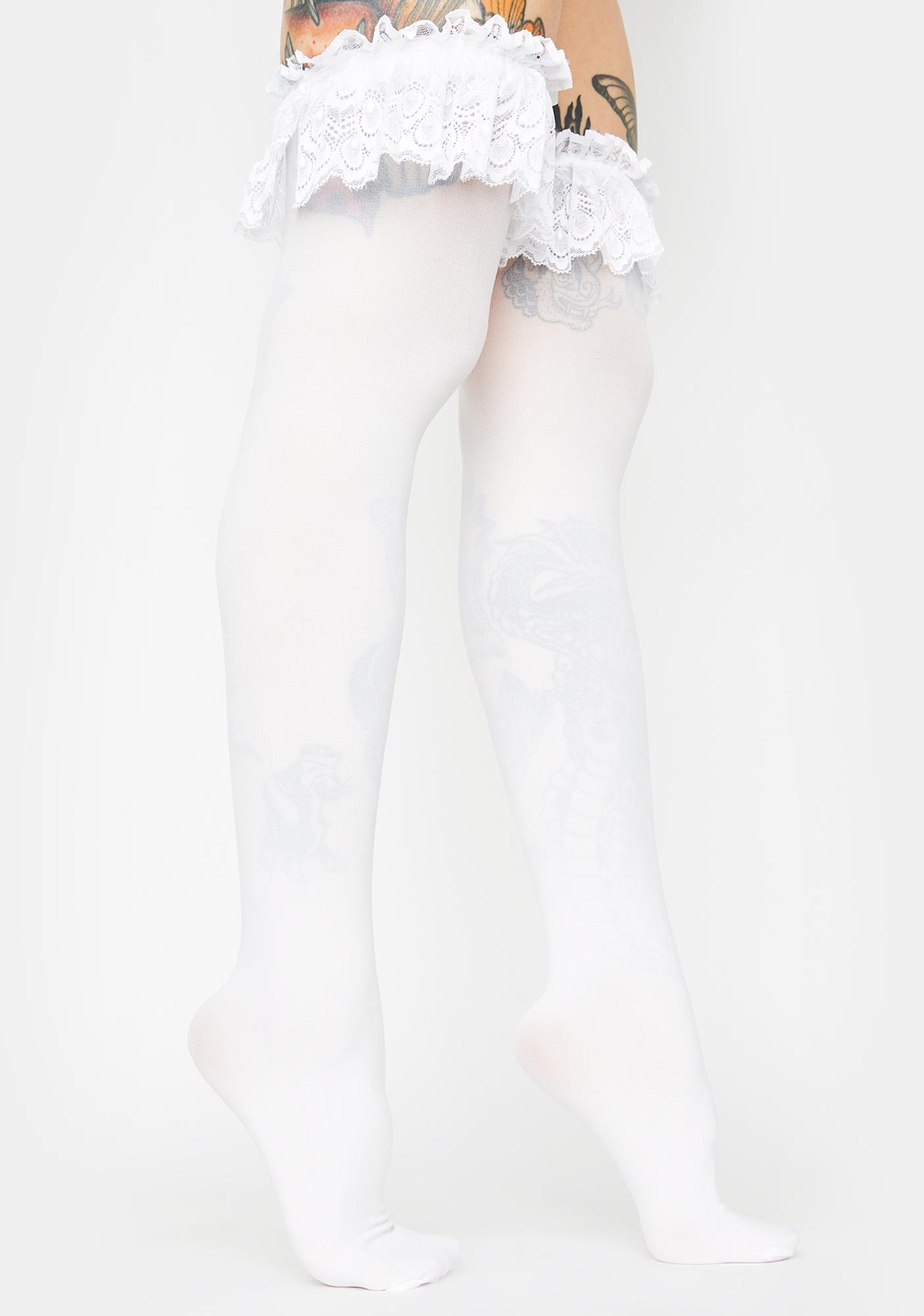 High Society Thigh High Socks