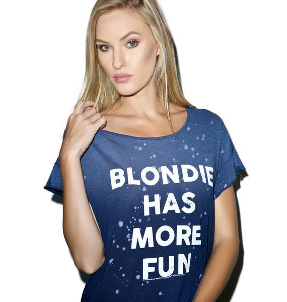 Junk Food Clothing Blondie Has More Fun Tee