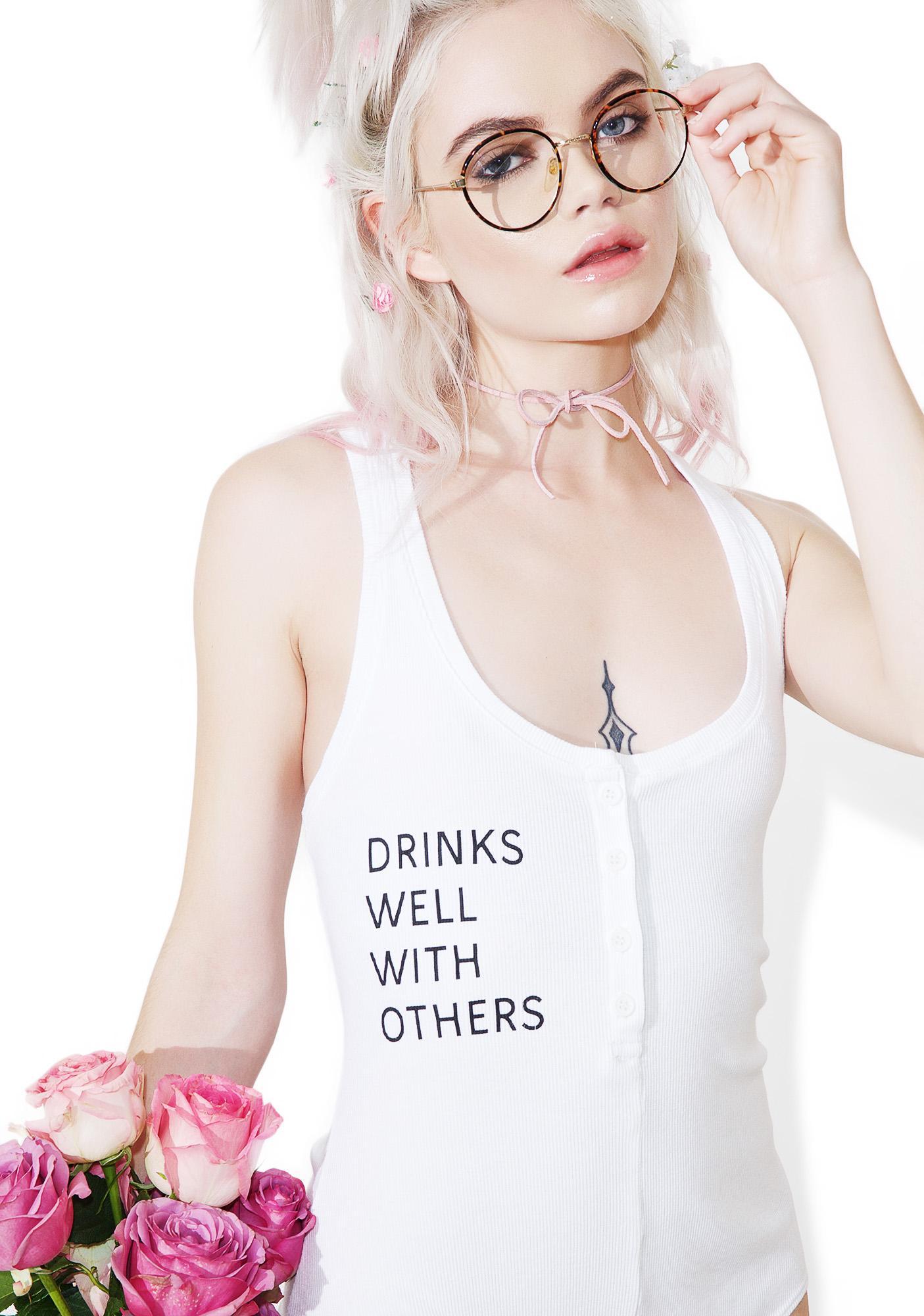 Daydream Nation Drinks Well Bodysuit