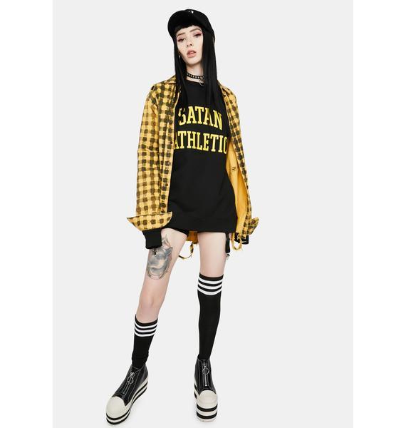 Satan Athletic Satan Athletic Graphic Sweatshirt
