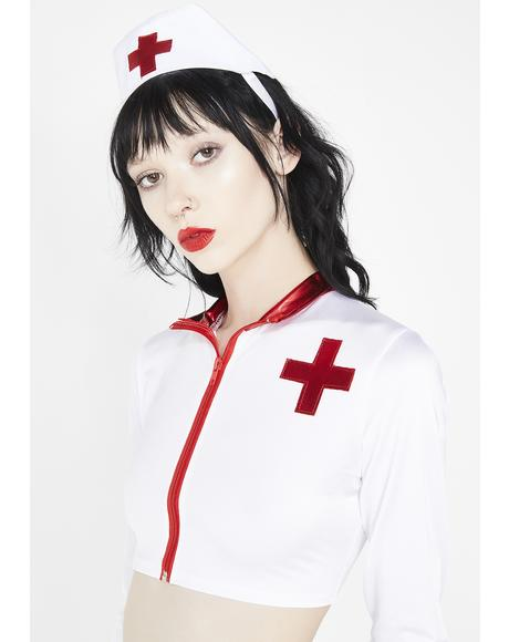 Hell's Nurse Costume Set