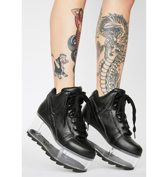 Y.R.U. Qozmo Qloud Platform Sneakers