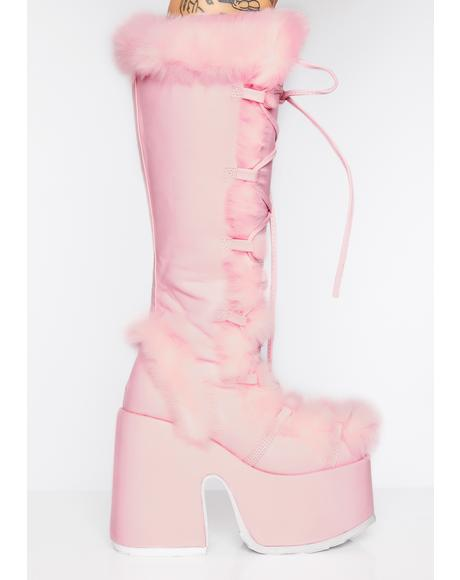 Sweet Pure Vigilance Platform Boots