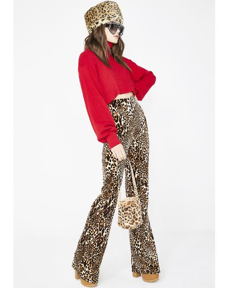 Live For Danger Leopard Flares