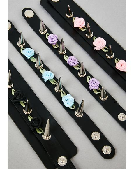 Gloom Bloom Bracelet Set