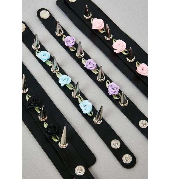 Gloom Bloom Bracelet Set
