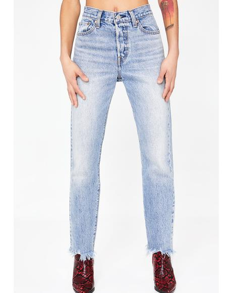 Light Wash Wedgie Icon Fit Denim Jeans