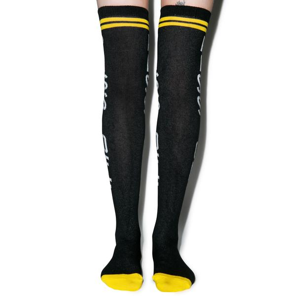 Sourpuss Clothing Piss Off Socks