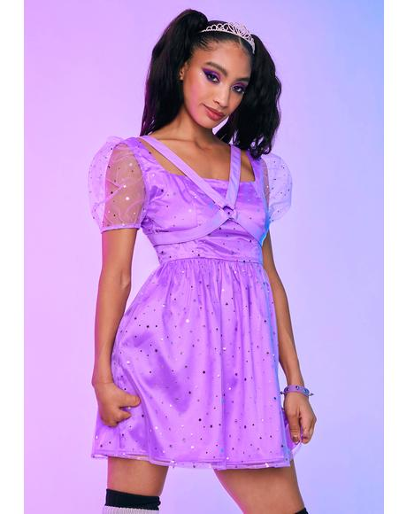 Princess Mood Harness Babydoll Dress