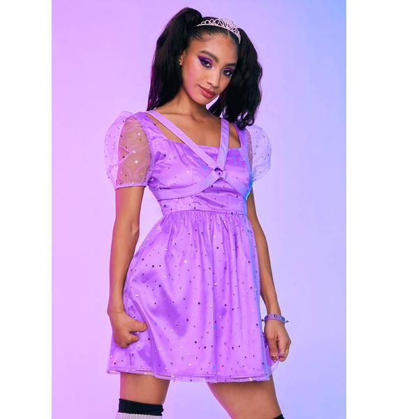 HOROSCOPEZ Princess Mood Harness Babydoll Dress