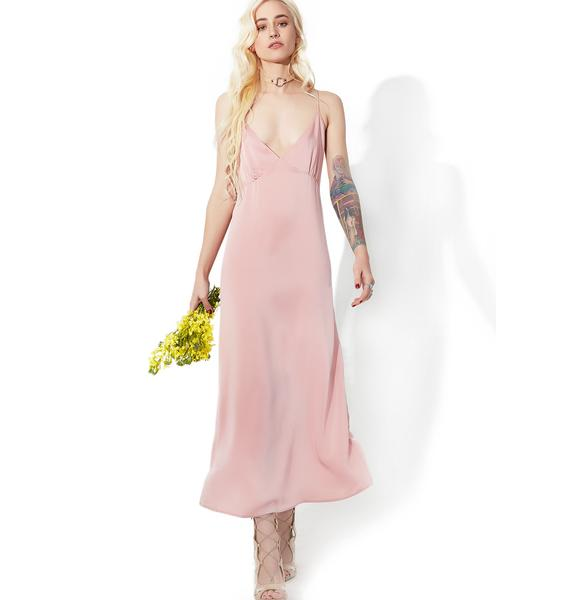 Motel Blush Latisha Dress
