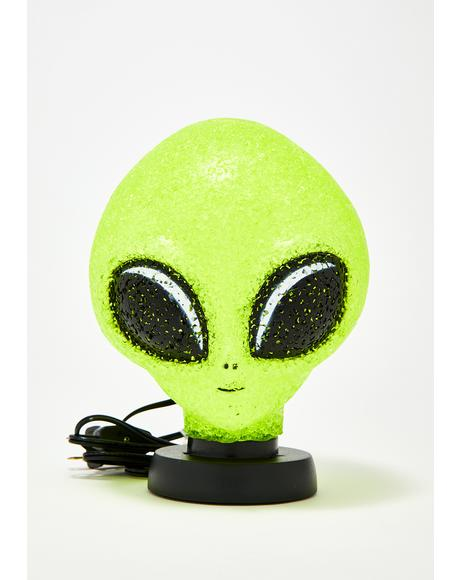 Planet Sparkle Alien Lamp