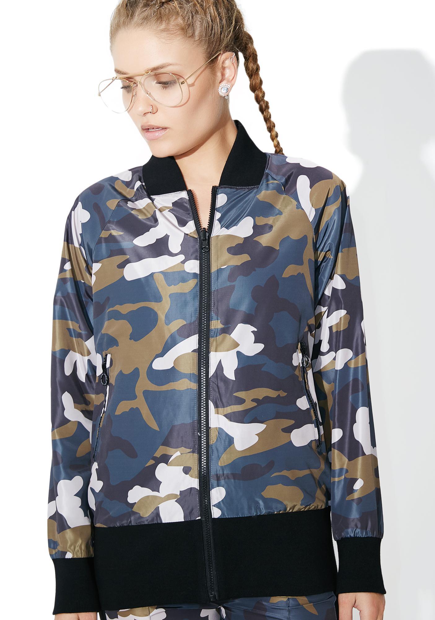 OKAYLA Camo Jacket