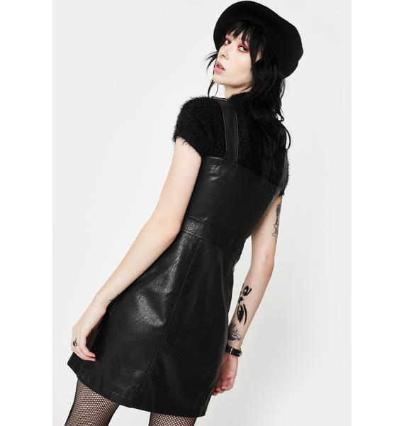 Glamorous Zip Up Overall Dress