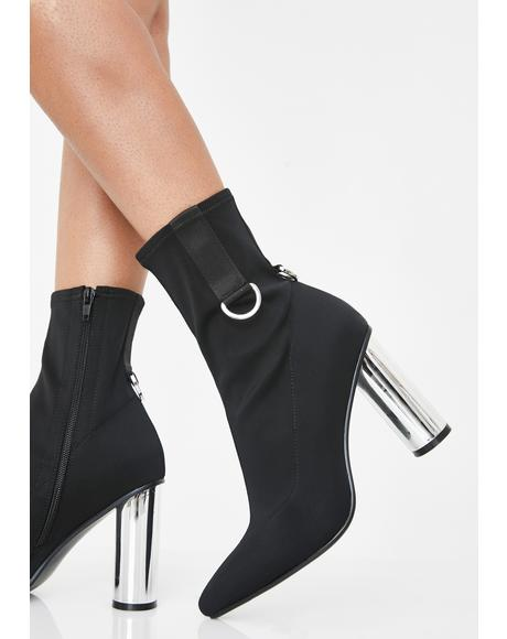 Elite Status Ankle Booties