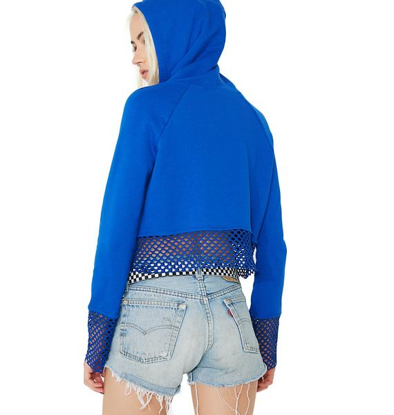 Playin' Games Cropped Hoodie
