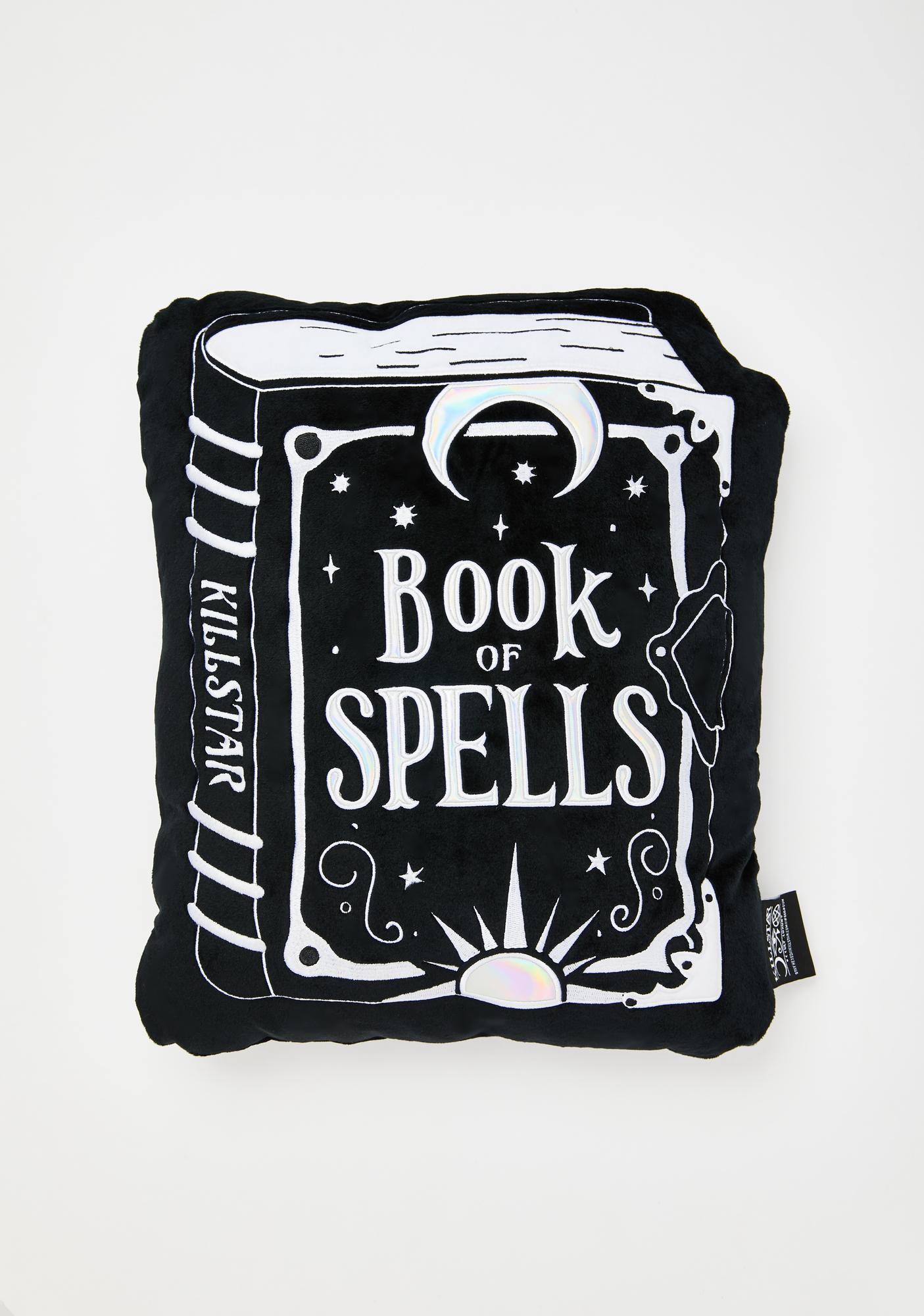 Killstar Book Of Spells Cushion
