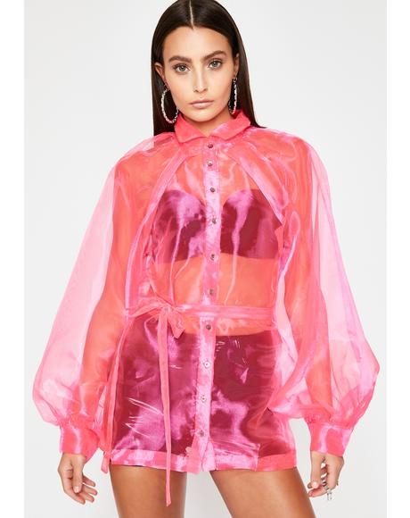 Mainstream Montage Organza Blouse