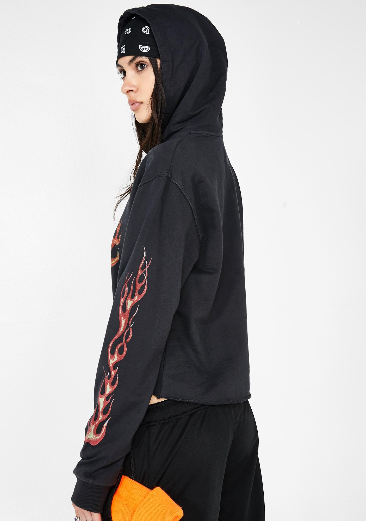 The People VS Occult Cropped Hoodie