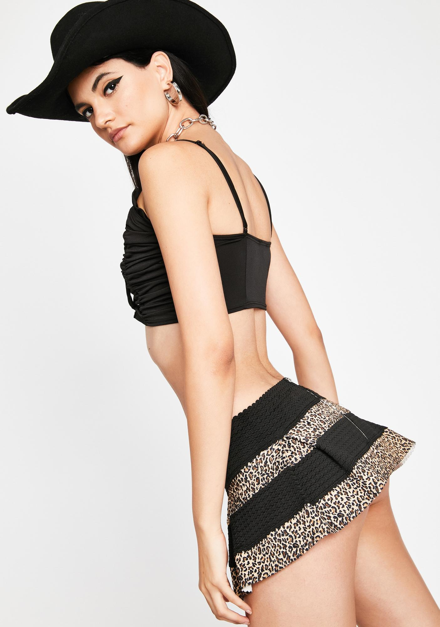 Wicked Wildly Candid Mini Skirt