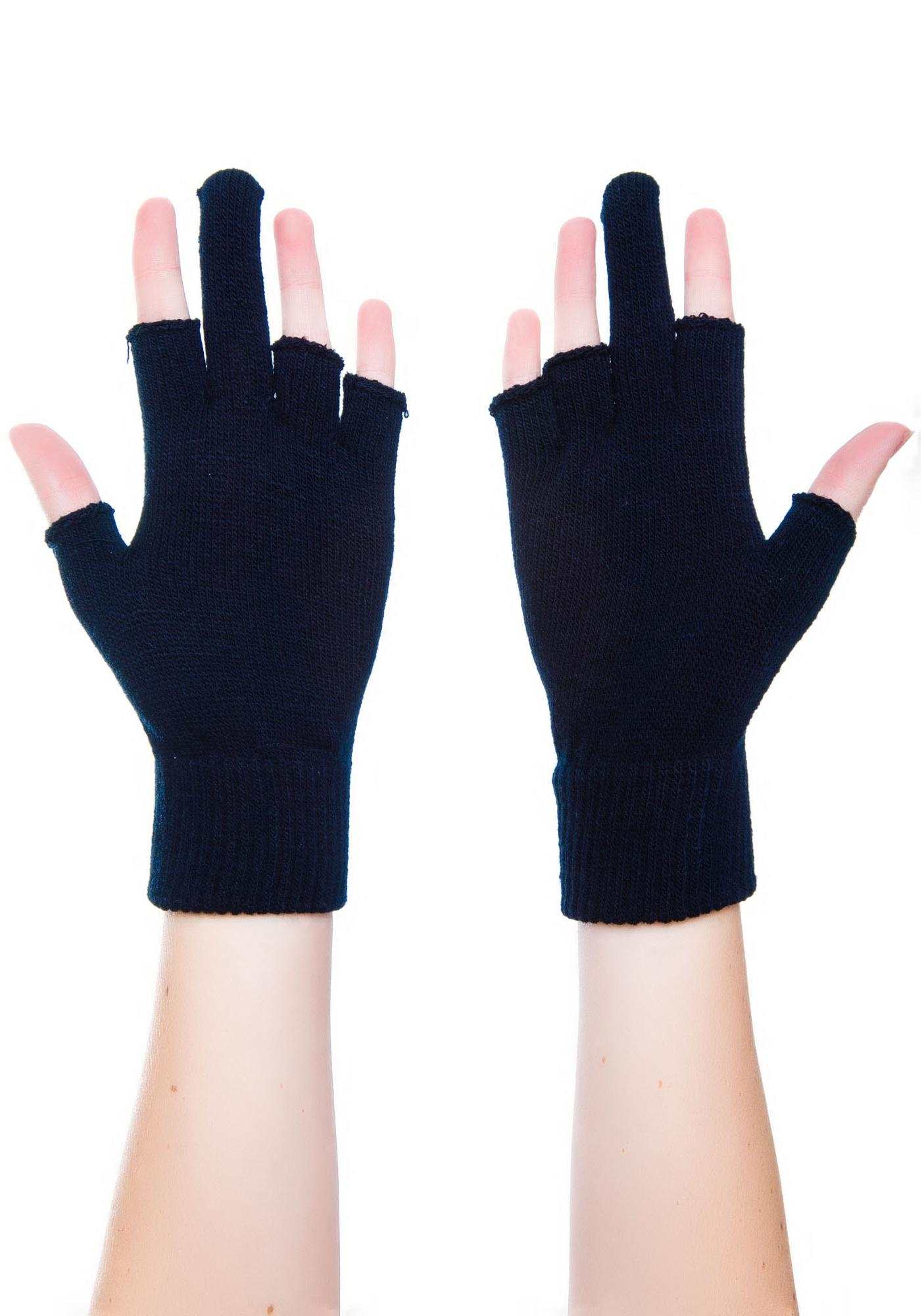 Fingerless gloves canada -  Too Fast Up Yours Fingerless Gloves