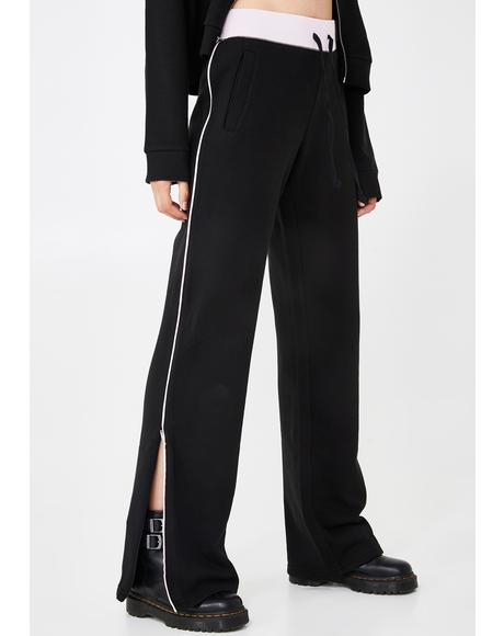 Track Zip Up Pants