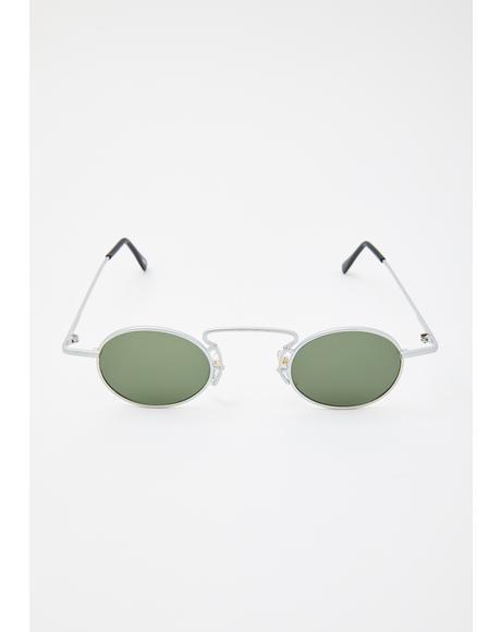 Cee Cee Silver Sunglasses