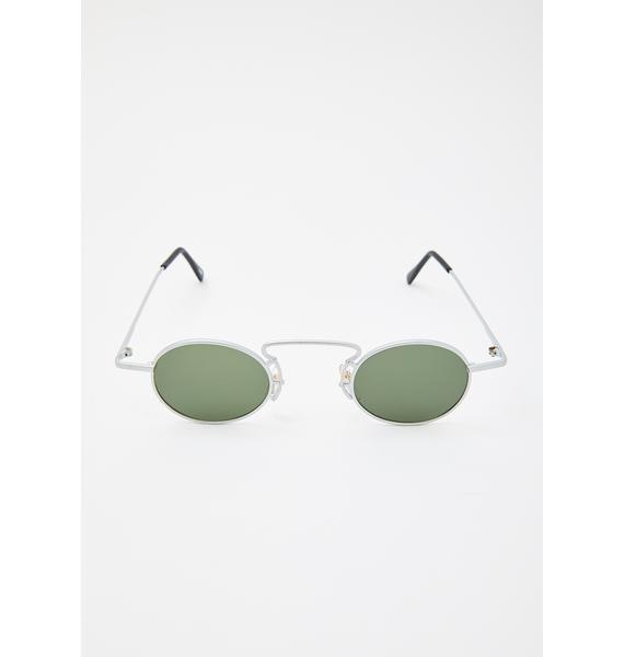 Good Times Eyewear Cee Cee Silver Sunglasses