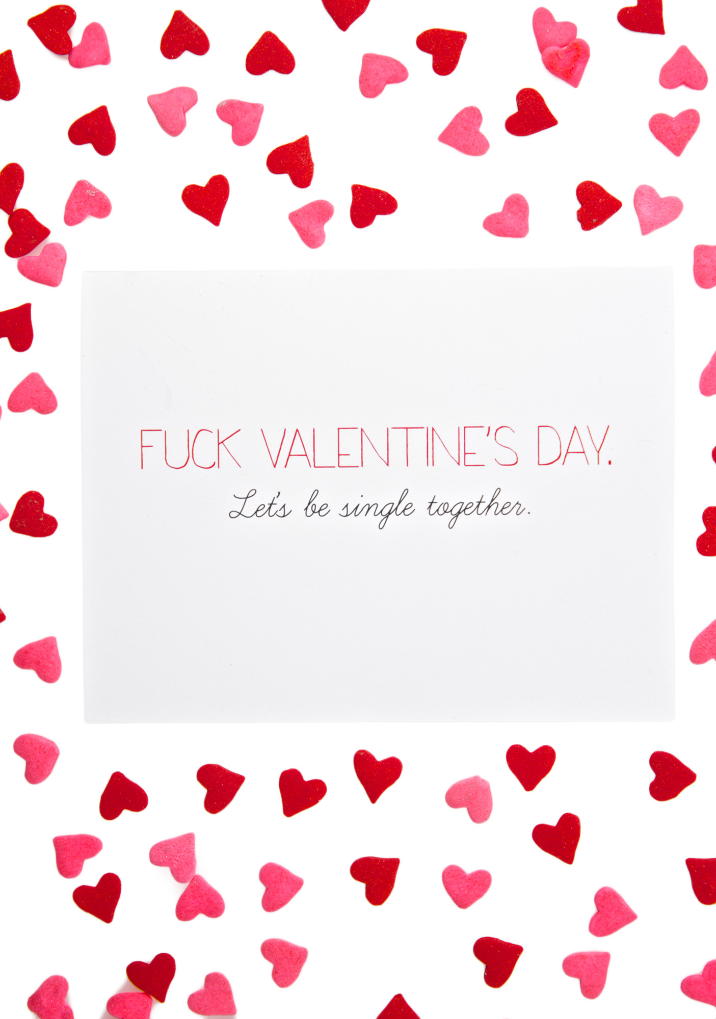 Sassy Funny Valentines Day Card