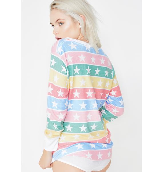 Wildfox Couture Stellar Stripe Tee