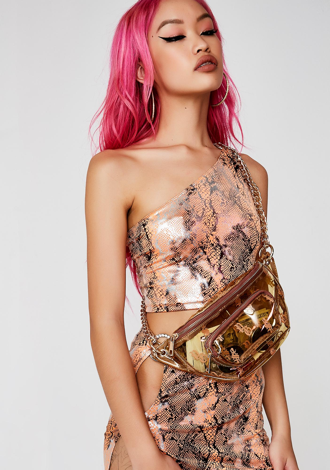 Poster Grl Poison Bite One Shoulder Top