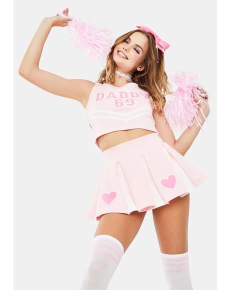 His Favorite Cheerleader Costume