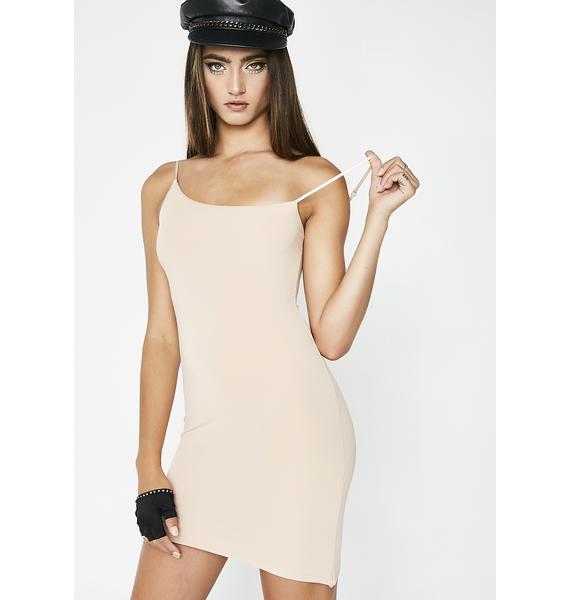 Kiki Riki Nude Not An Angel Asymmetrical Dress
