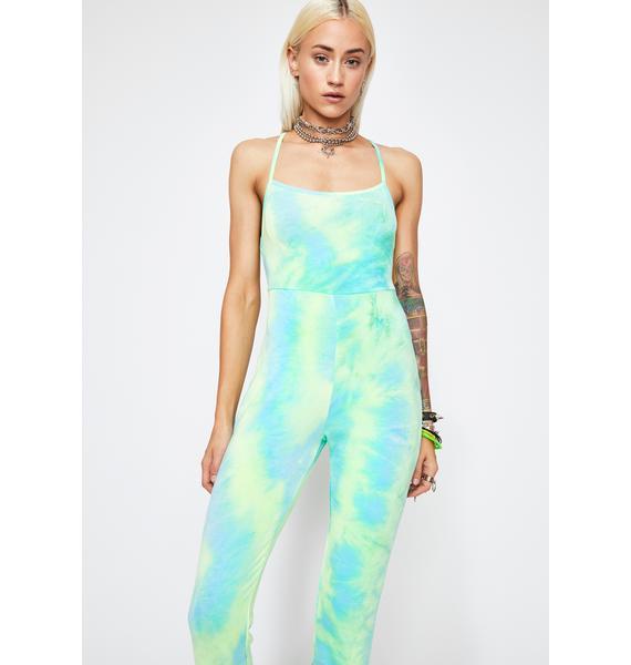 Dreamsicle Tie Dye Jumpsuit
