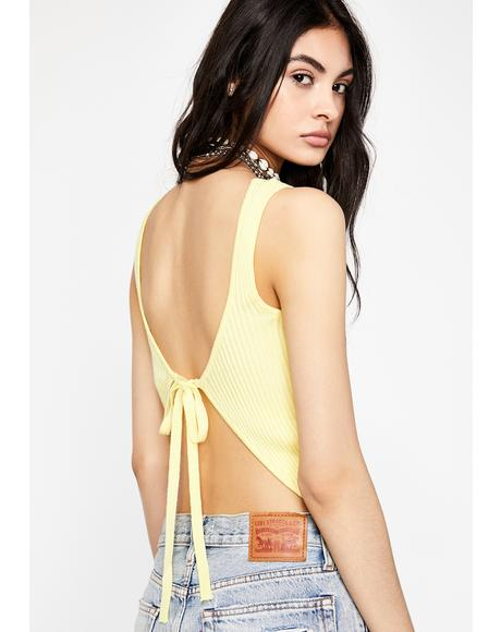 Honey Back In Session Tank Top
