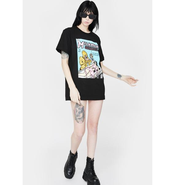 EXCLUSIVE DELIVERY CO. 3 Eyed Creature Graphic Tee