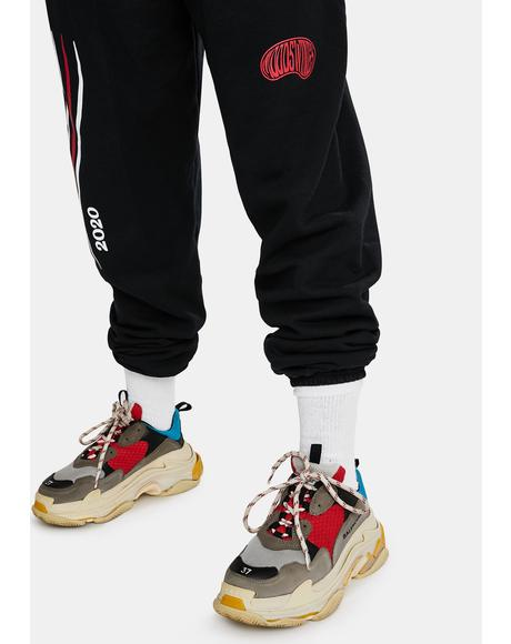 20 20 Vision Graphic Sweatpants
