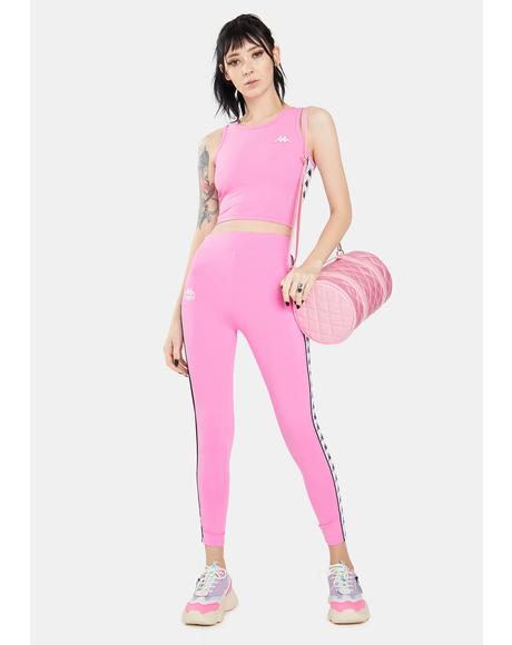 Pink 222 Banda Barrio Leggings